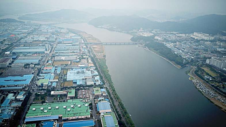 대구 수돗물 사태의 원인이 된 구미국가산단 전경 ⓒ 대구환경운동연합.JPG